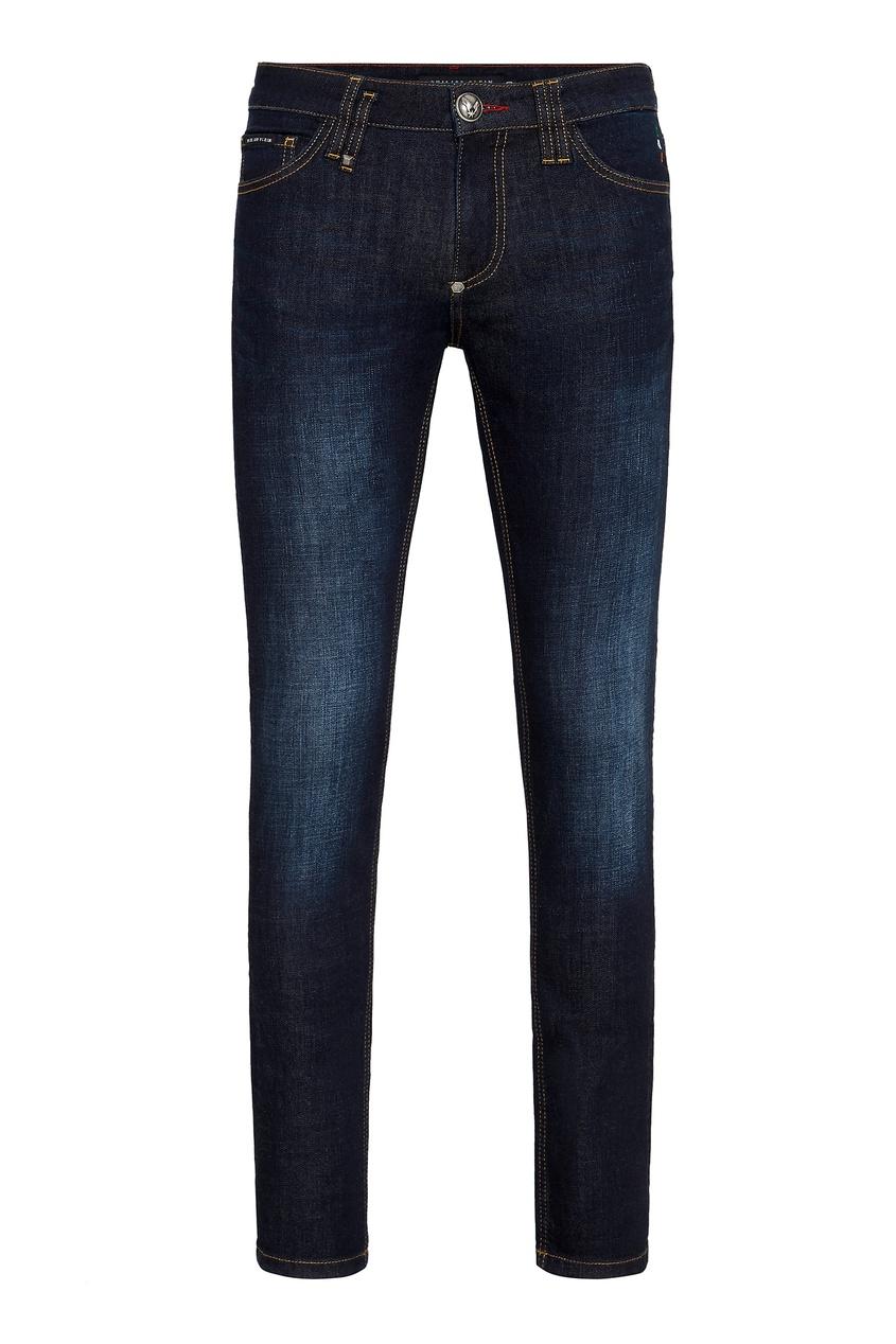 мужские джинсы philipp plein, синие