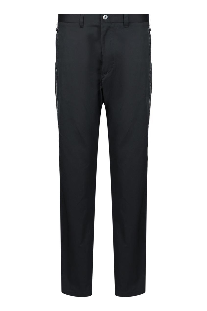 мужские брюки roberto cavalli, черные