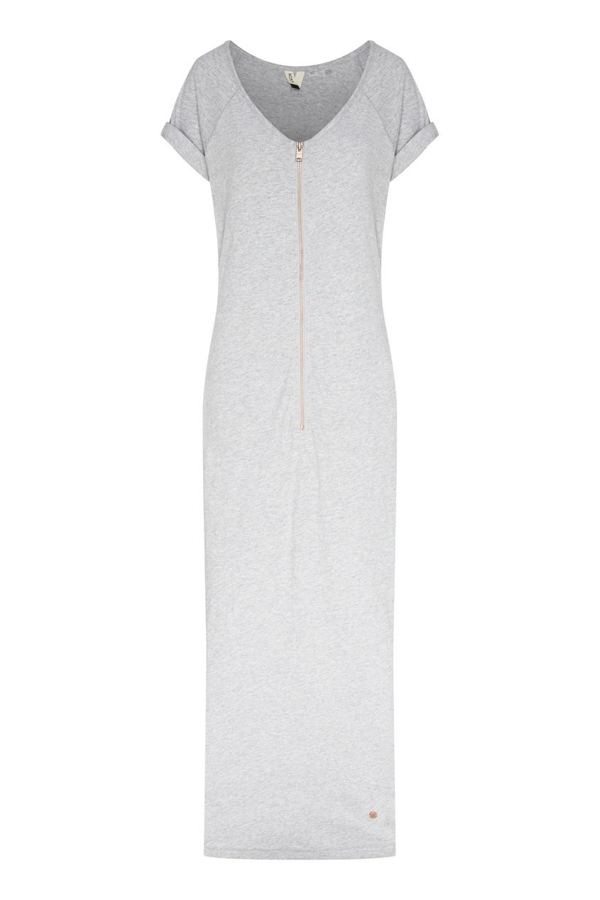 женское платье-футболки roxy, серое