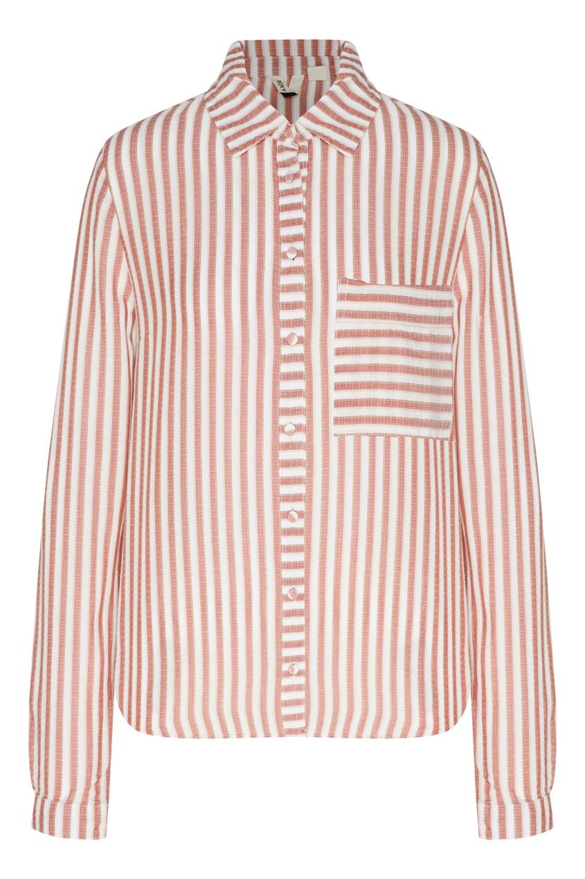 женская рубашка roxy, белая