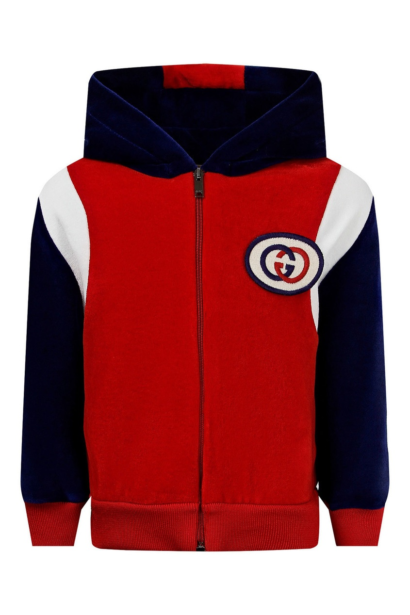 Яркая куртка в спортивном стиле от Gucci