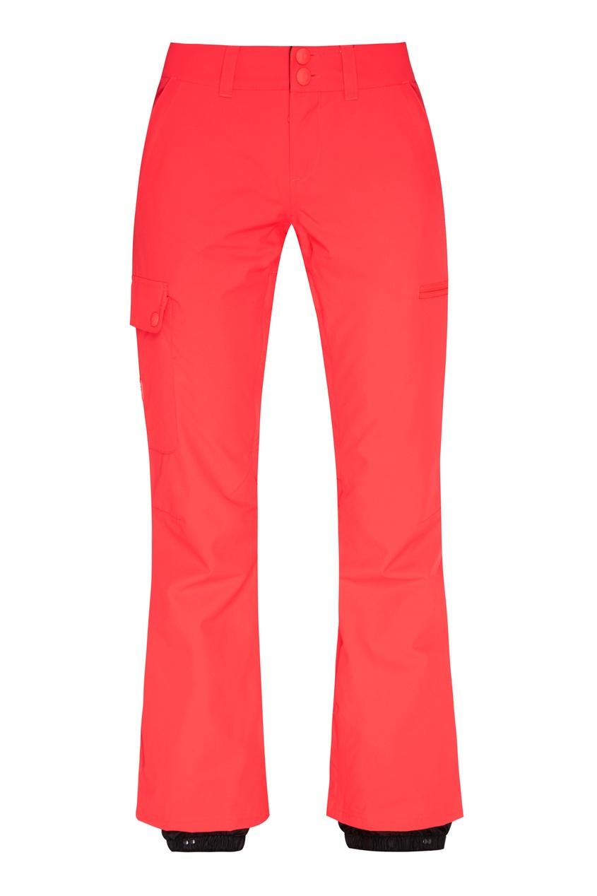 Фото - Сноубордические брюки кораллового цвета Recruit от DC Shoes розового цвета
