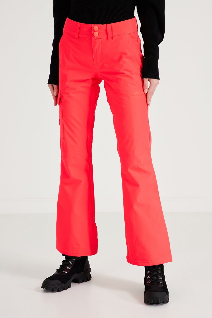 Фото 3 - Сноубордические брюки кораллового цвета Recruit от DC Shoes розового цвета