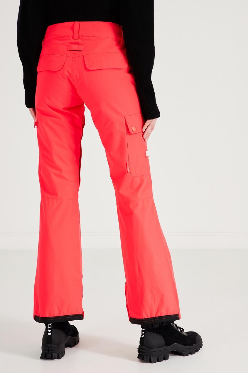 Фото 4 - Сноубордические брюки кораллового цвета Recruit от DC Shoes розового цвета