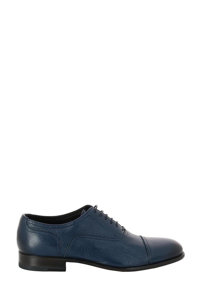 мужские туфли-оксфорды moreschi, синие
