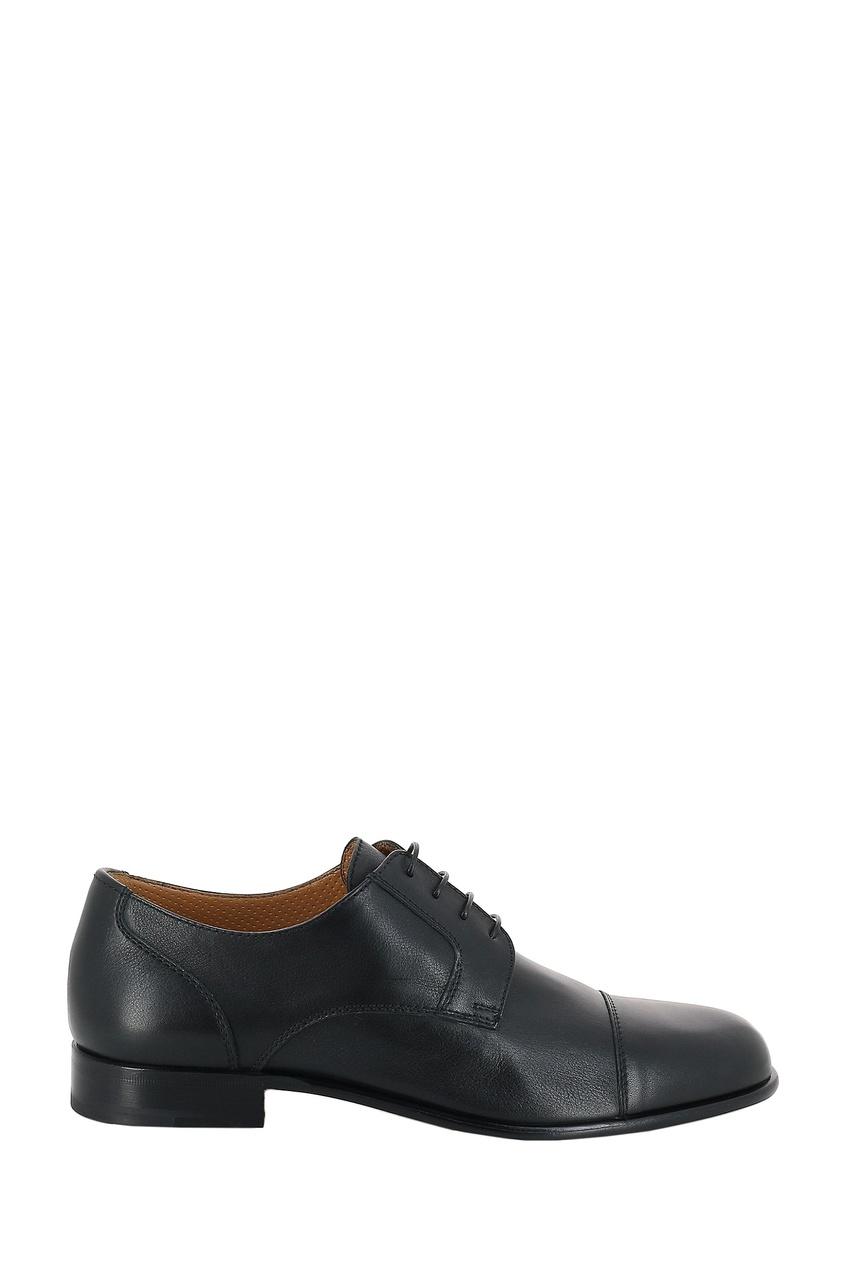 мужские туфли-оксфорды moreschi, черные