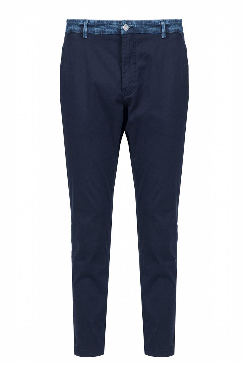 мужские брюки frankie morello, синие
