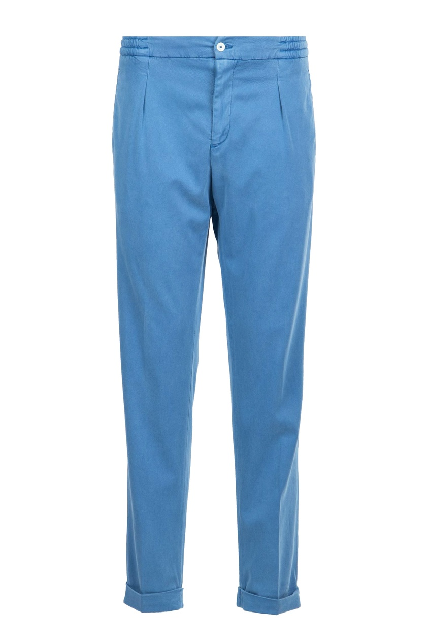 мужские брюки marco pescarolo, голубые