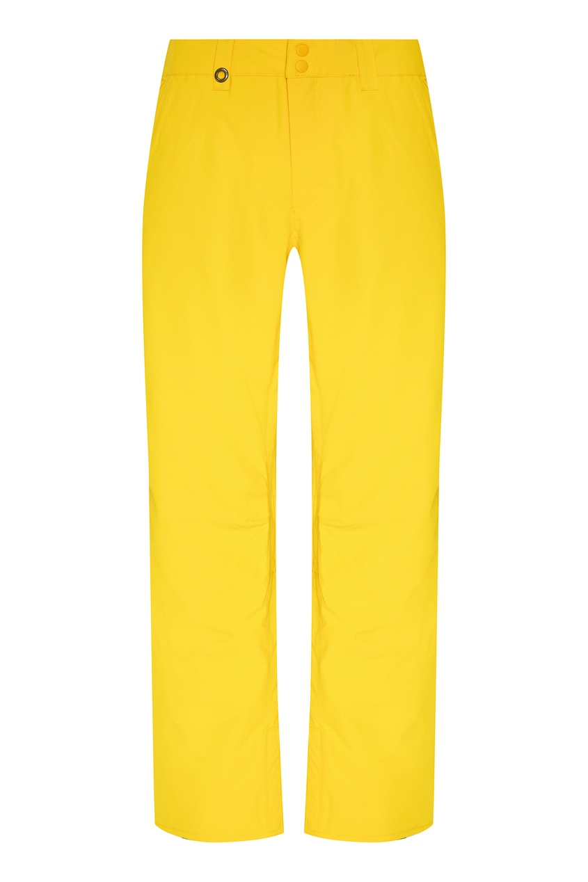мужские сноубордические брюки quiksilver, желтые