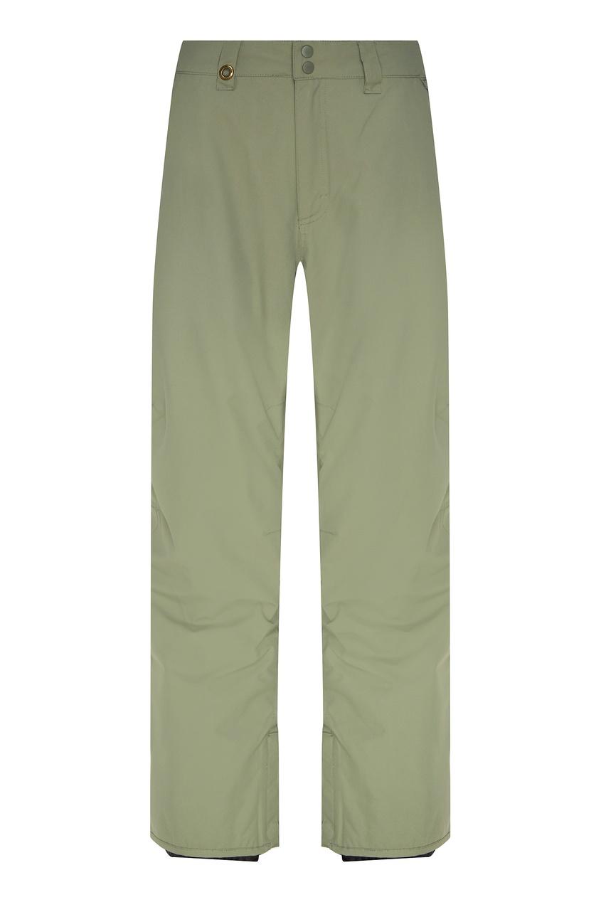 мужские сноубордические брюки quiksilver, зеленые