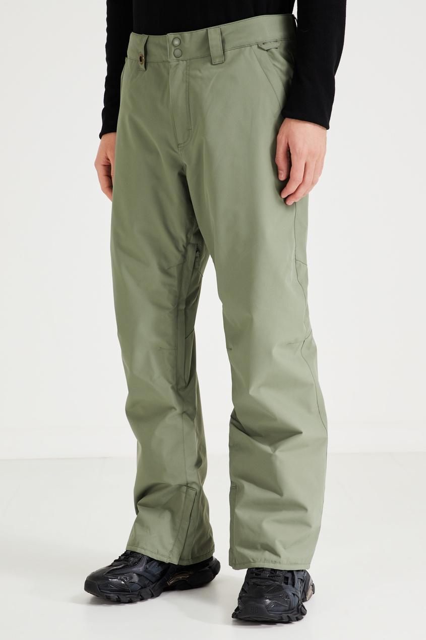 Фото 3 - Зеленые сноубордические штаны Estate от Quiksilver зеленого цвета