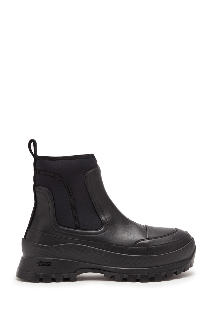 женские ботинки stella mccartney, черные