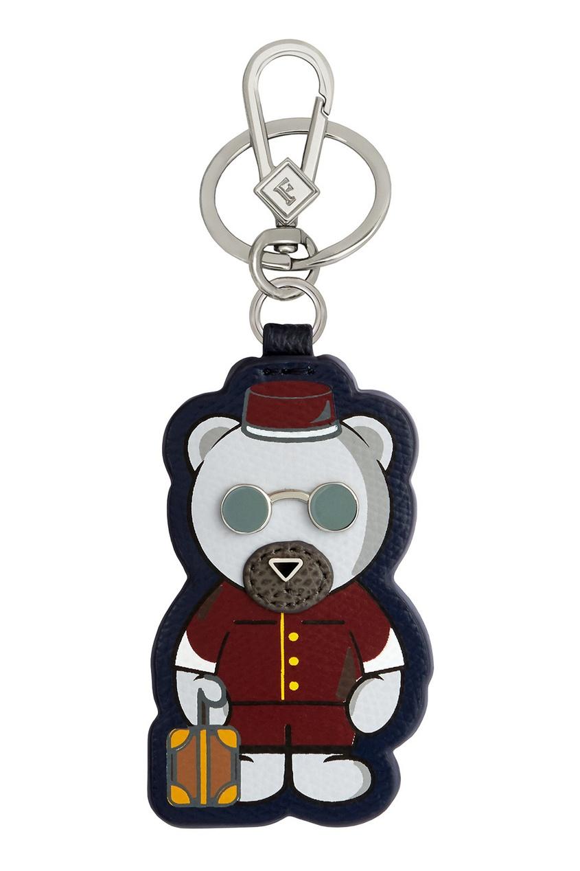 Брелок в виде медведя с чемоданом Kumaflage Furla