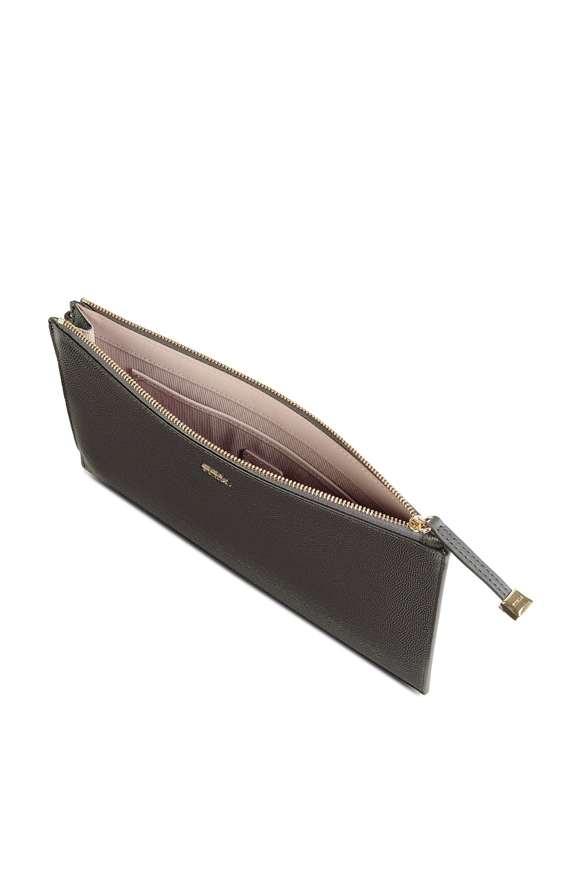 женский кошелёк furla, серый