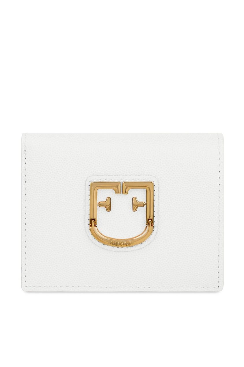 женский кошелёк furla, белый