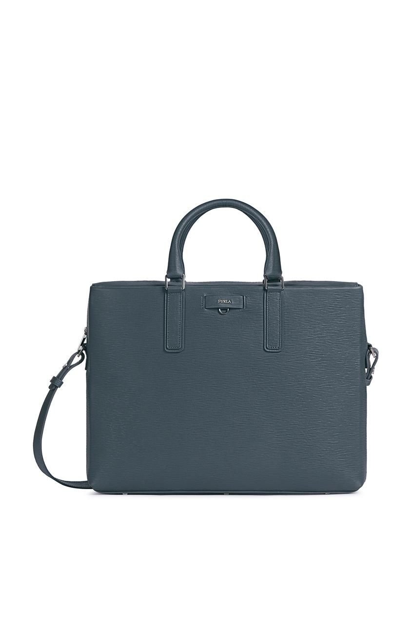 мужской портфель furla, серый