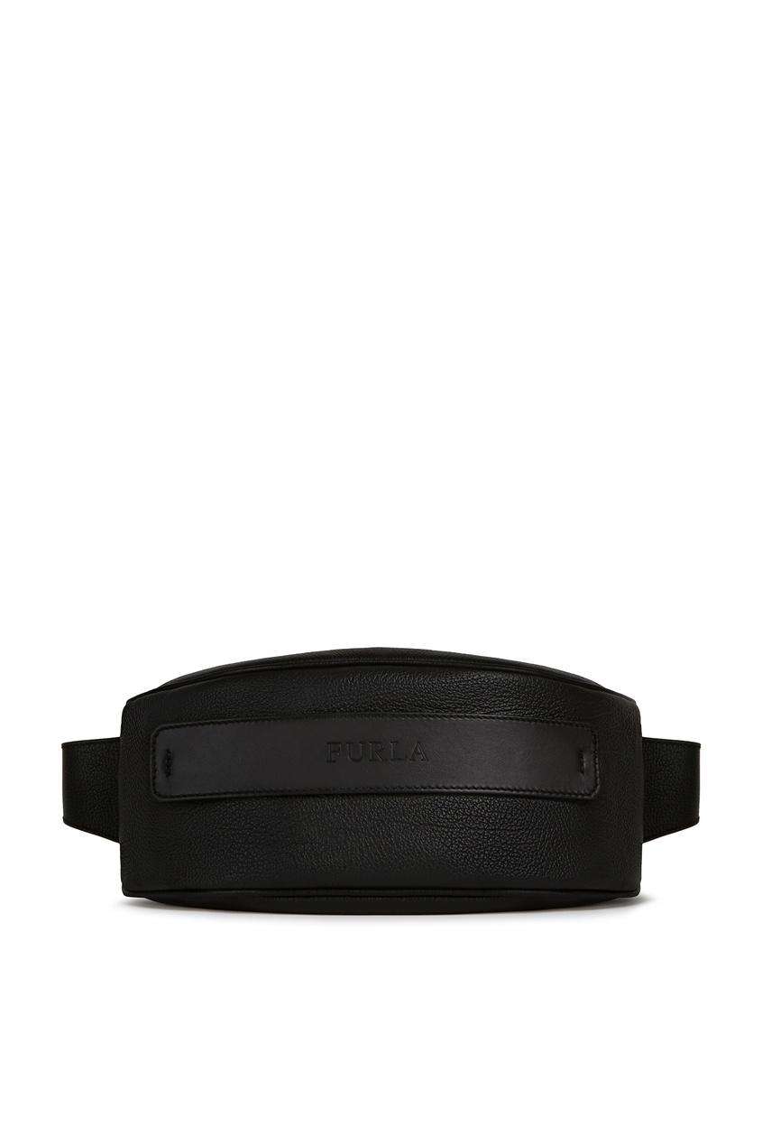 мужская поясные сумка furla, черная