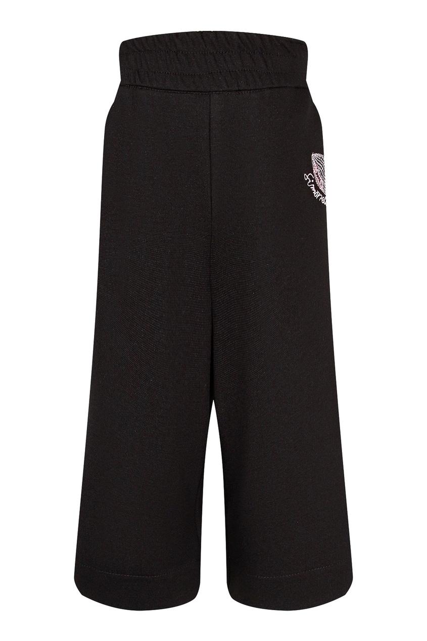 Серые брюки с высокой талией от Simonetta Mini