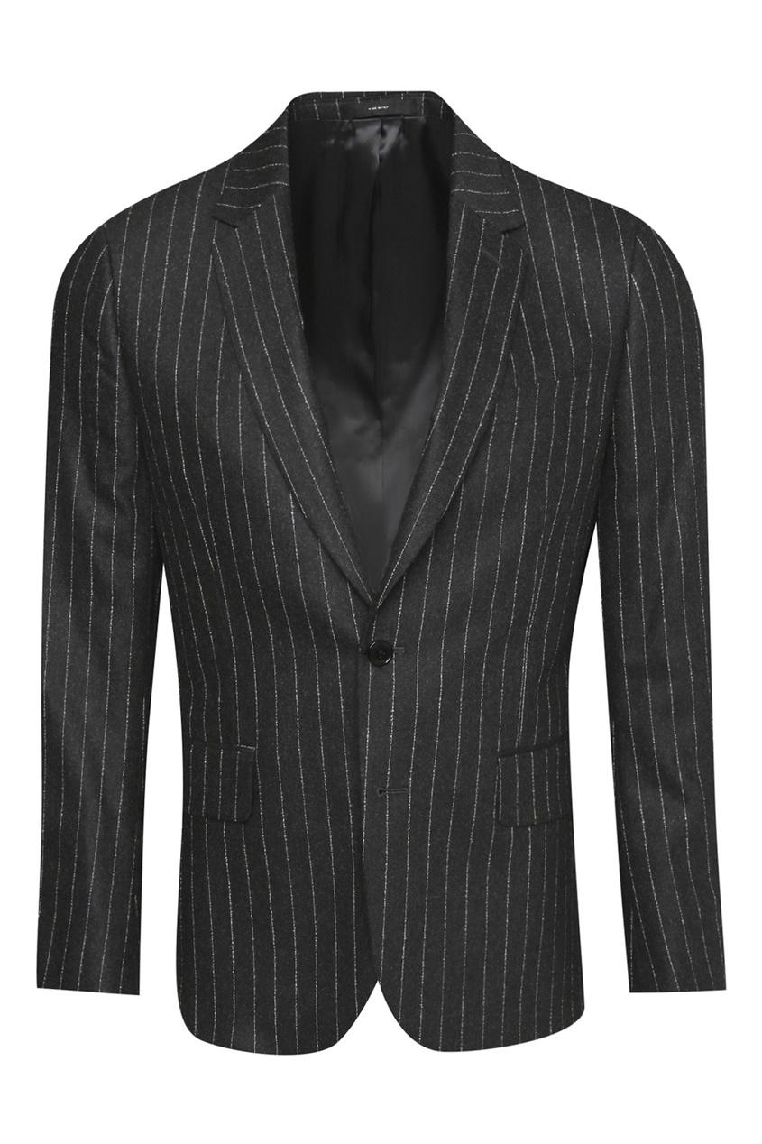 Шерстяной костюм в полоску Paul Smith