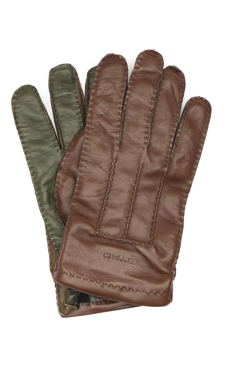 Перчатки из мягкой кожи Etro
