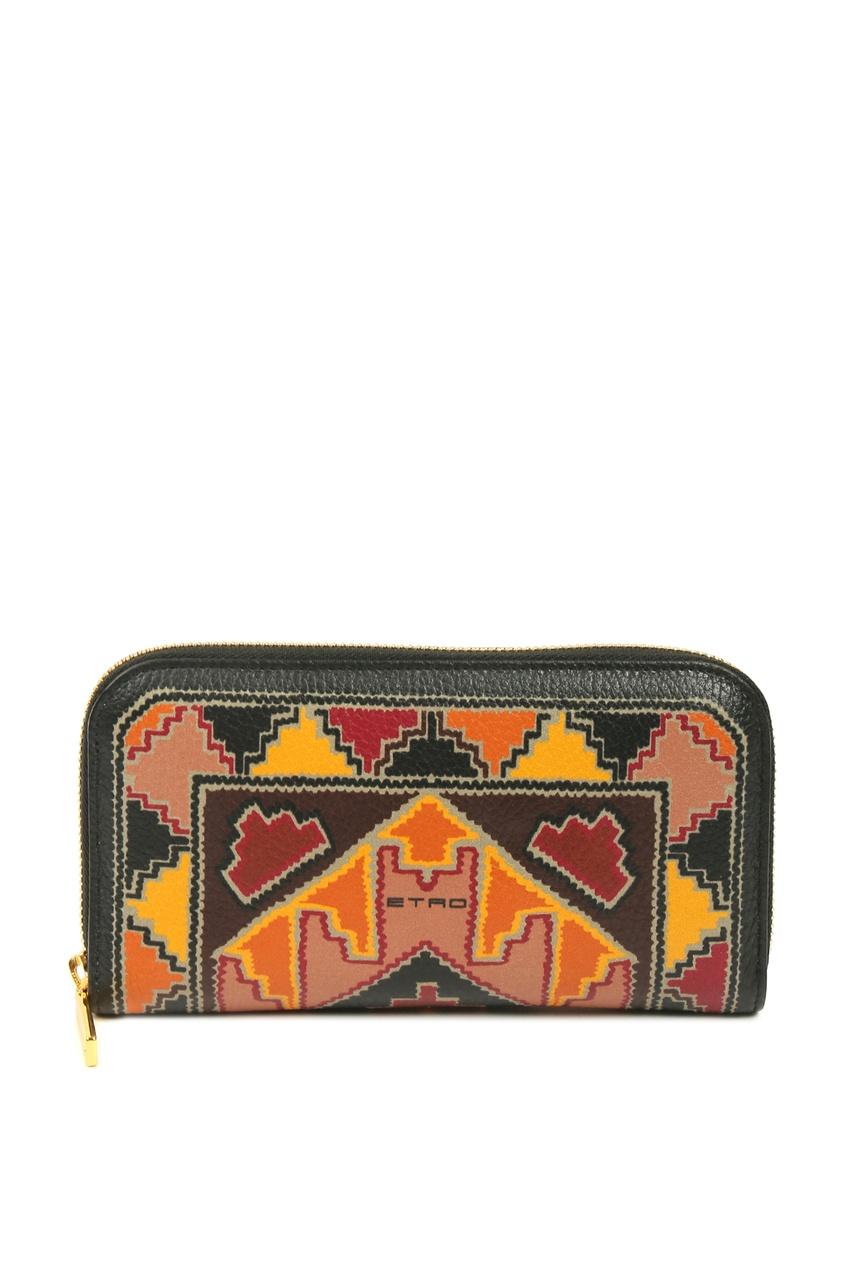 женский кошелёк etro