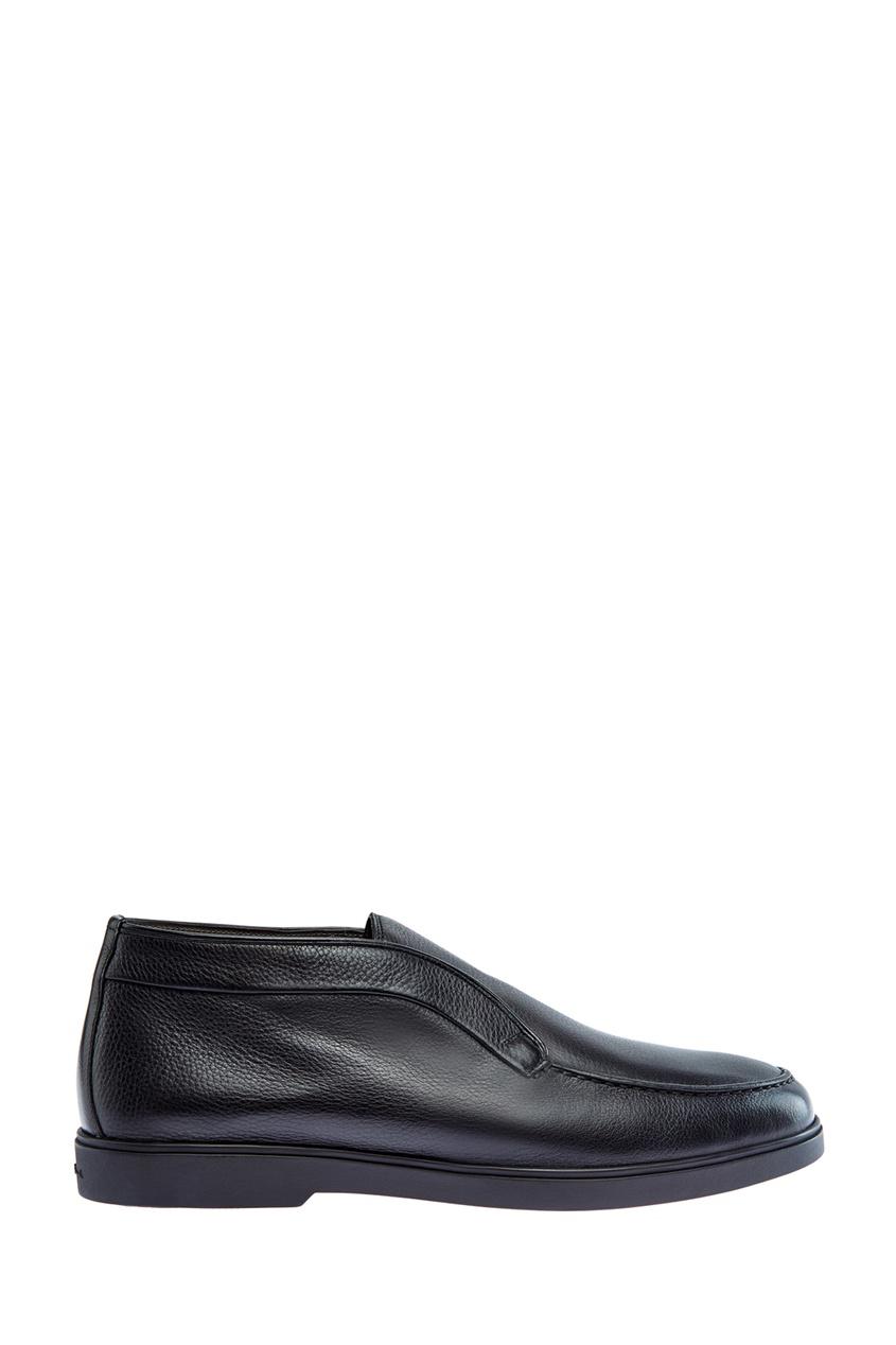 мужские туфли santoni, черные