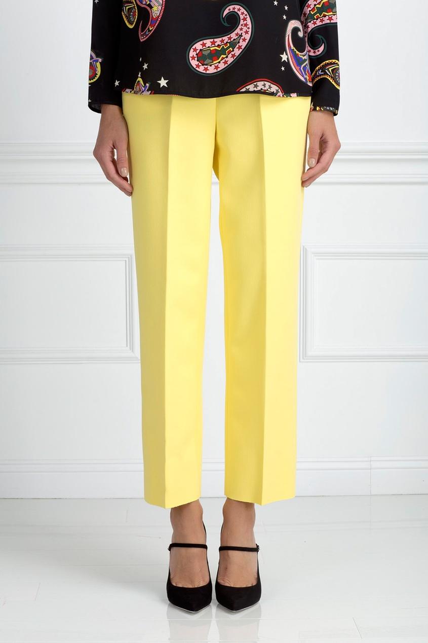 MSGM Однотонные брюки