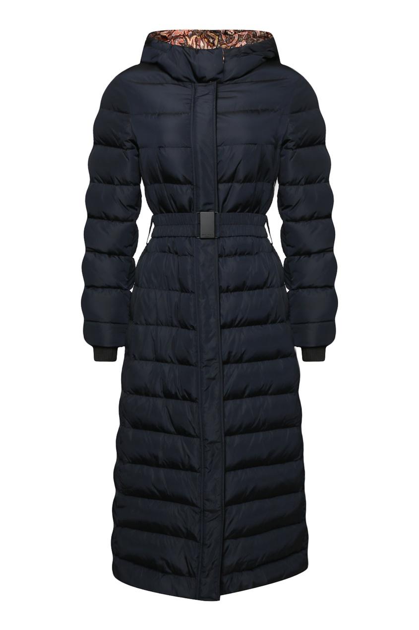 женское пальто etro, синее