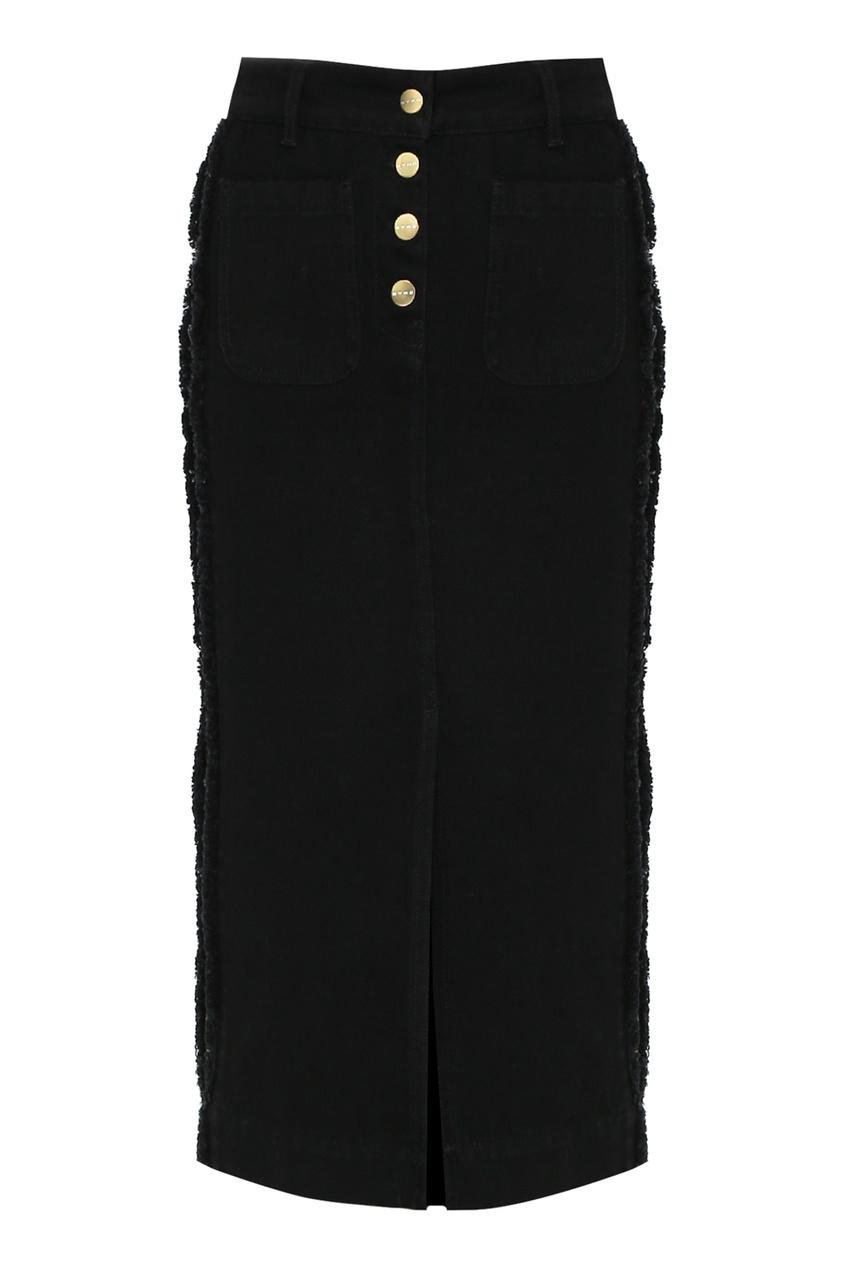 женская юбка etro, черная