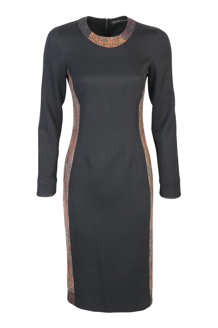 женское платье etro, черное