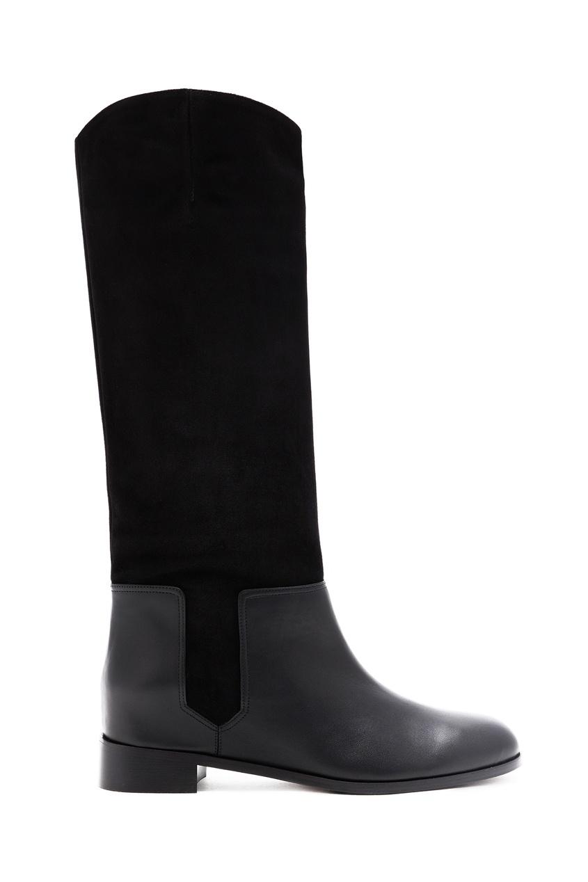 Сапоги на низком каблуке Duke Ridding Boot
