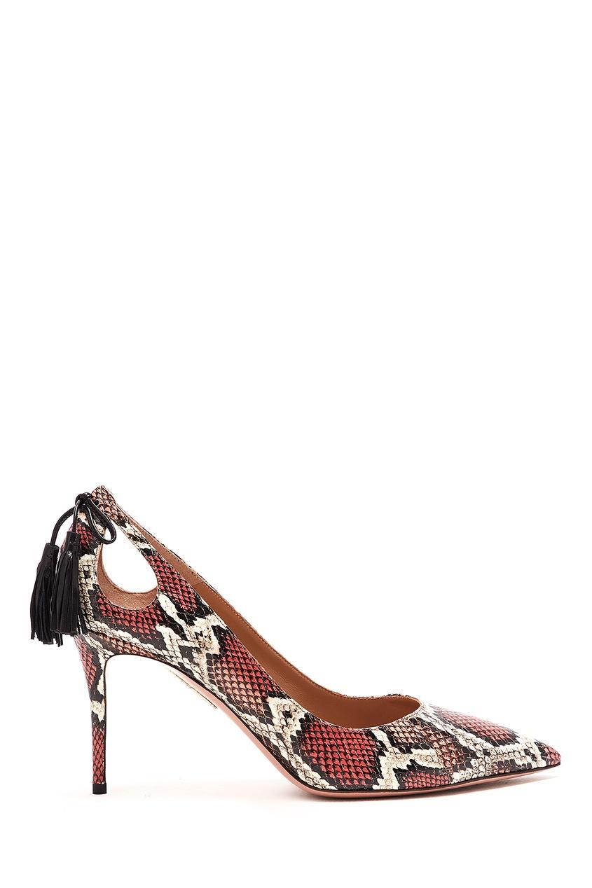 женские туфли aquazzura, красные