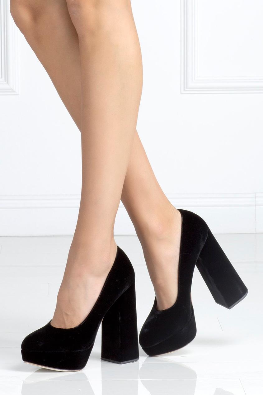 Замшевые туфли Alix