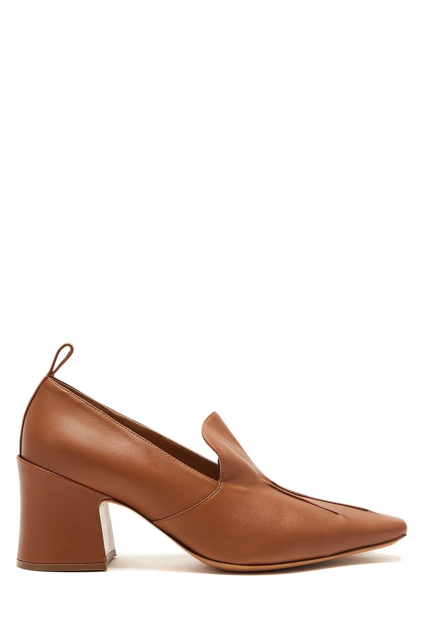 женские туфли dries van noten, коричневые