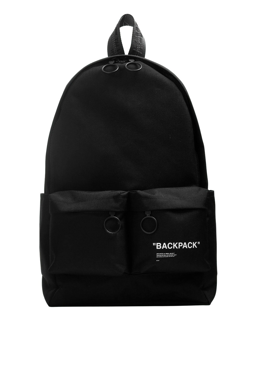 мужской рюкзак off-white, черный