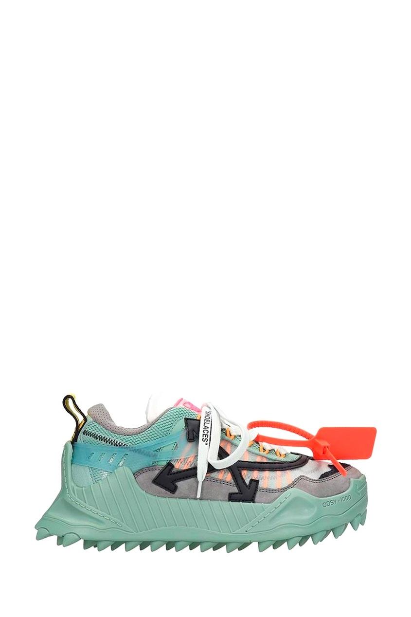 Купить со скидкой Комбинированные кроссовки