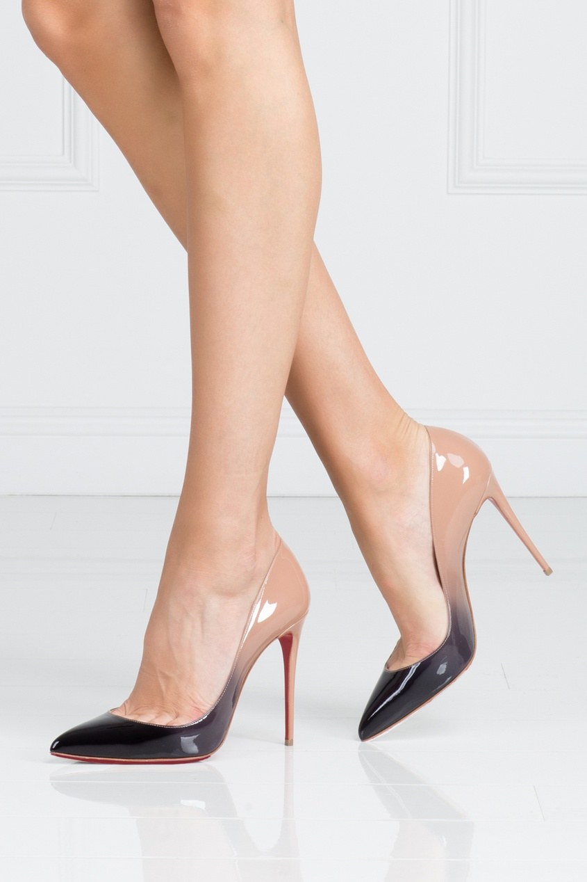 Туфли из лакированной кожи Pigallie Follies 100
