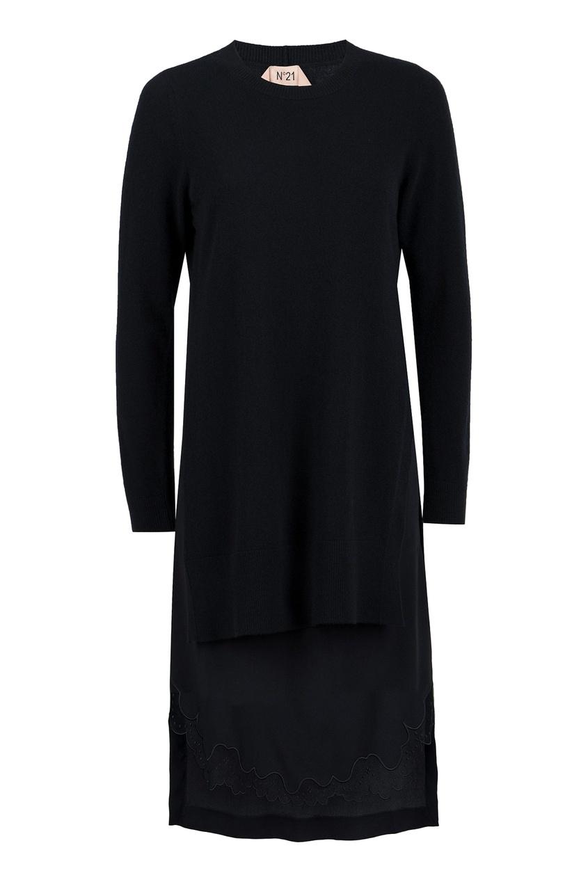 женское платье no.21, черное