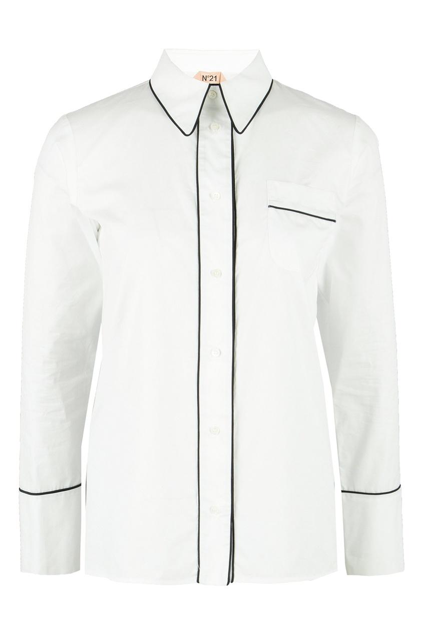 женская рубашка no.21, белая