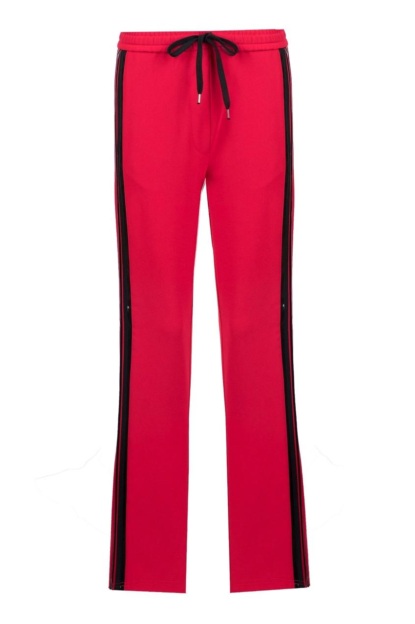 женские брюки no.21, красные