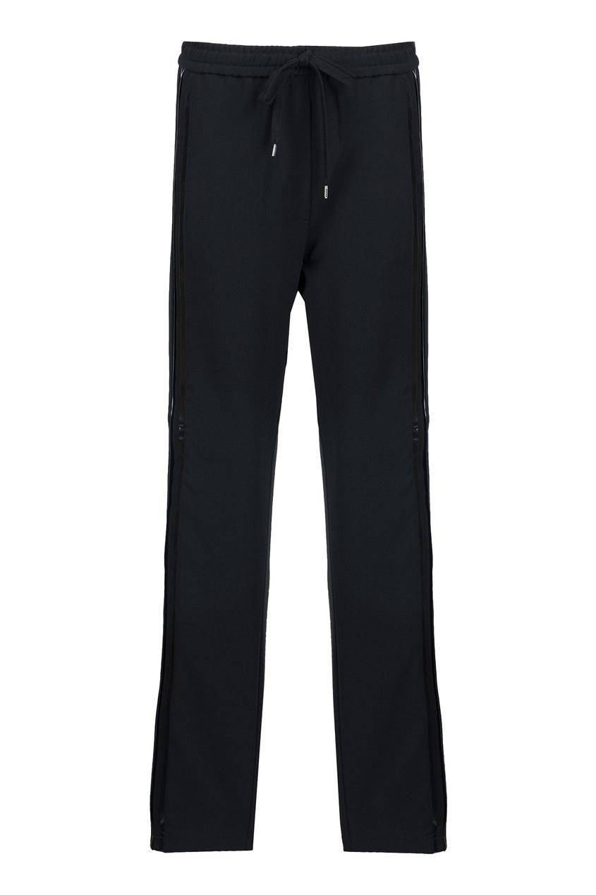 женские брюки no.21, черные