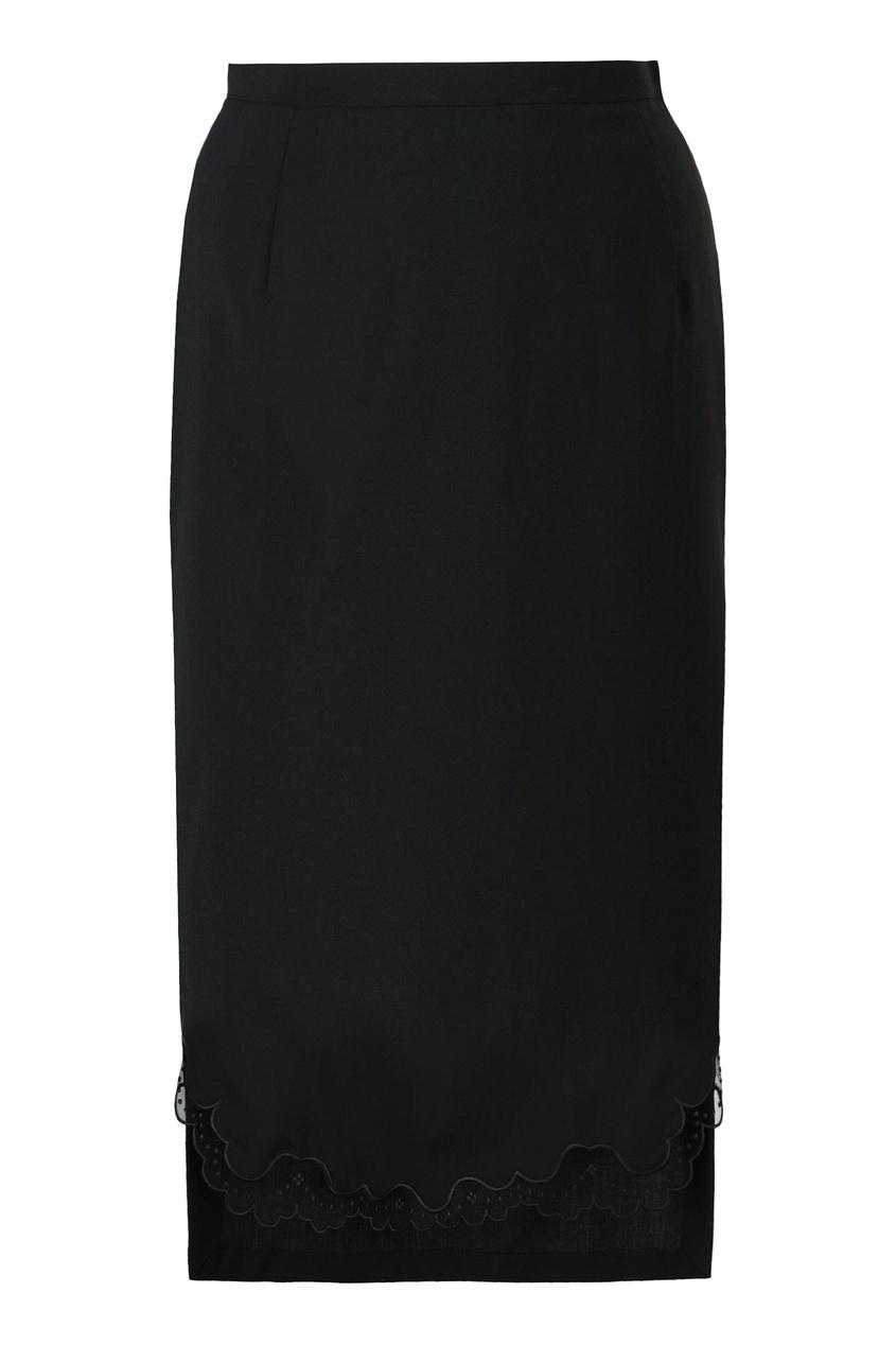 женская юбка no.21, черная
