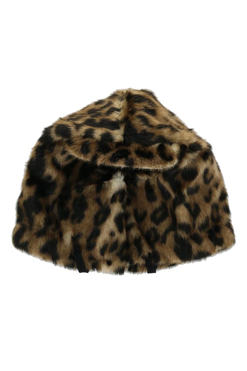 Шапка с леопардовым узором от No.21