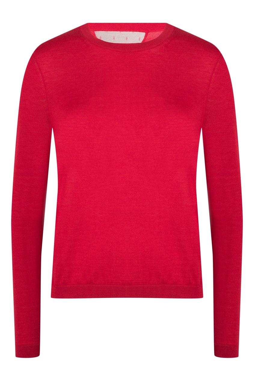женский джемпер red valentino, красный