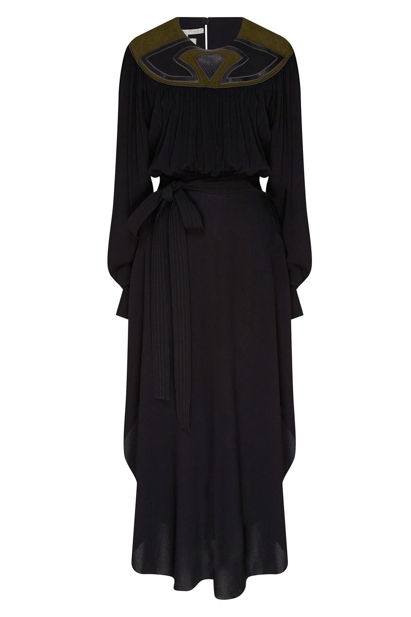 женское платье stella mccartney, черное