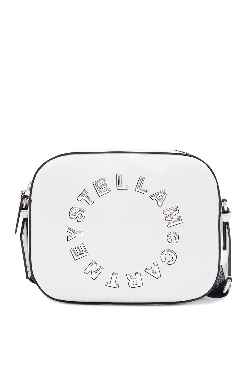 женская сумка stella mccartney, белая