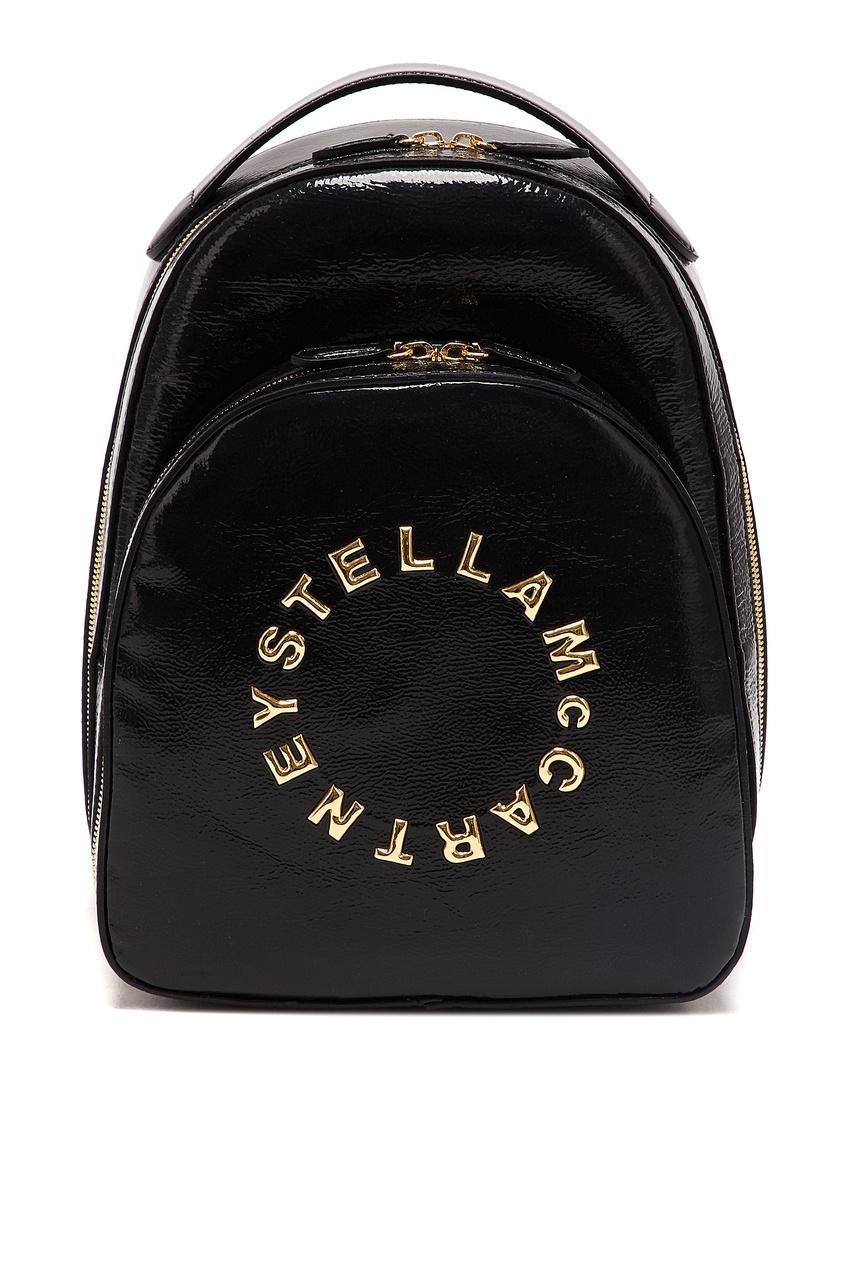 женский рюкзак stella mccartney, черный