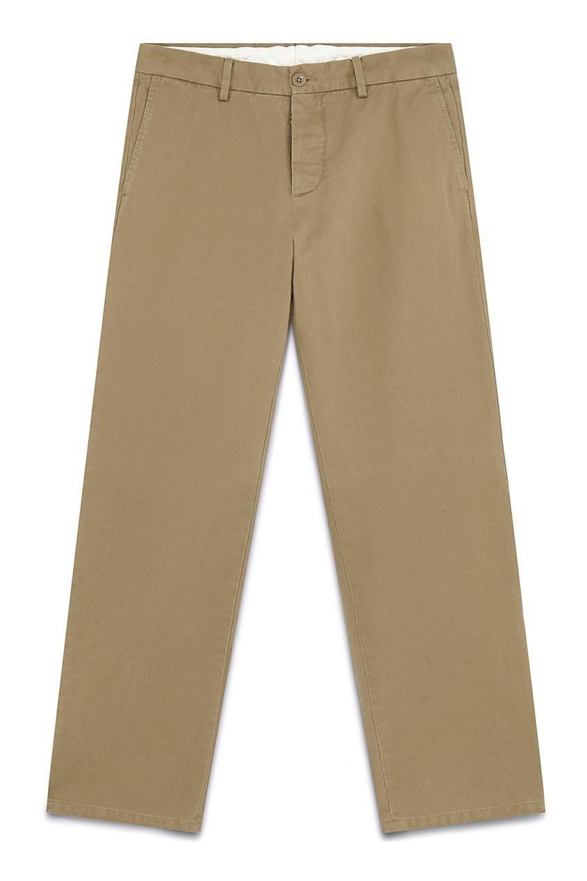 мужские брюки maison margiela, бежевые