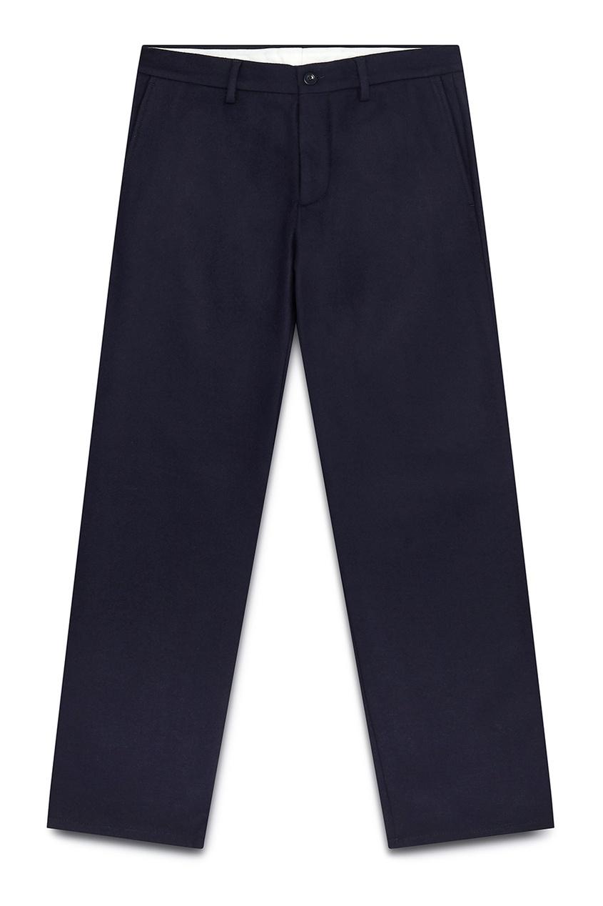 мужские брюки maison margiela, синие