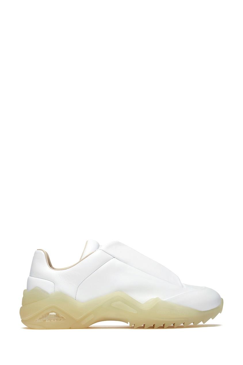 мужские кроссовки maison margiela, белые